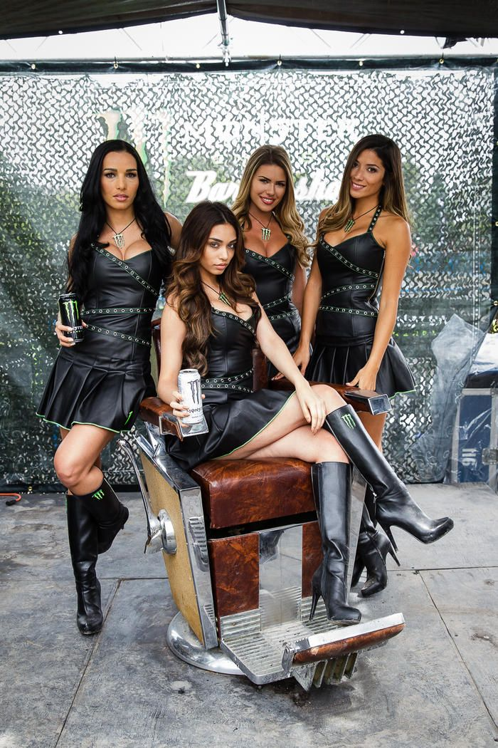 leather babes