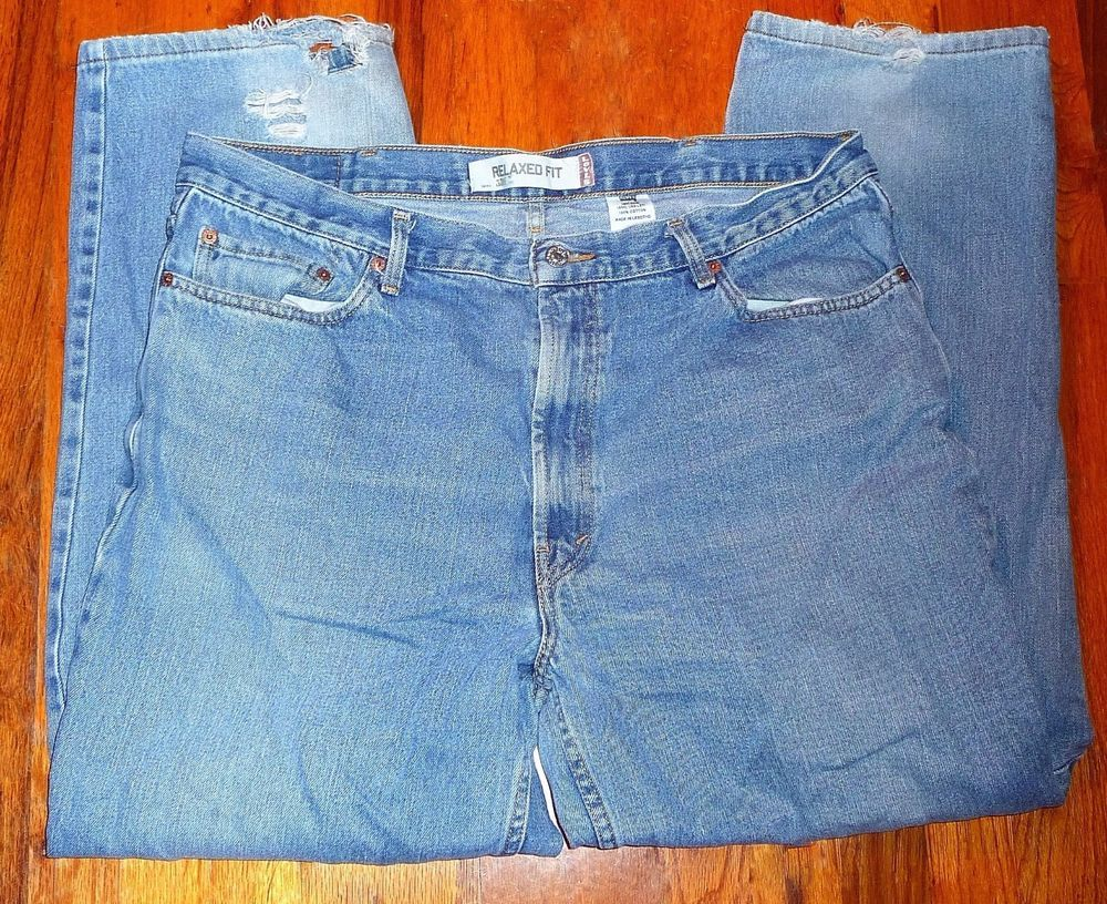$12.99 OBO Wrangler 96501 Regular-Fit Jeans 38x27 Tag-38X29 130273 Very Good Condition! #Wrangler #ClassicStraightLeg