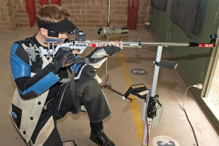 Will Godward is off to London for the air rifle competition