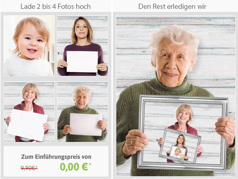 Lass Dir Kostenlos Deine Generationen Foto Collage Von Unseren
