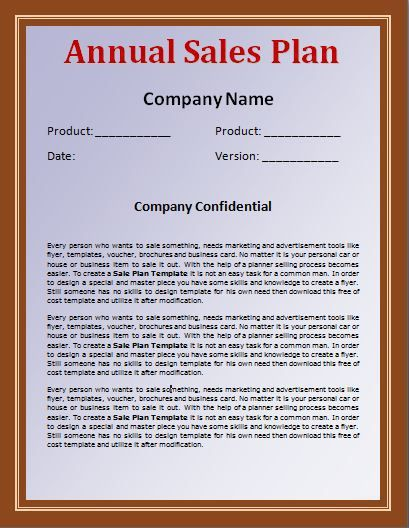 Sales Plan Template wordstemplates Pinterest - company plan template