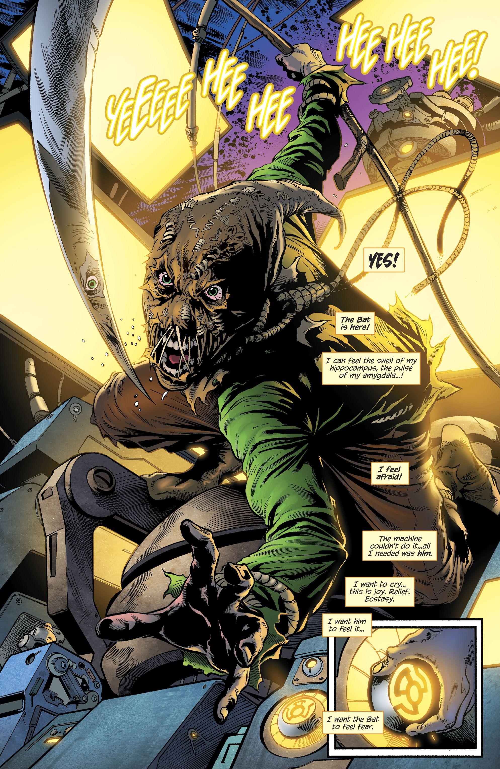 Dc Rebirth Scarecrow Batmans Rogues Scarecrow Dc Dc Rebirth