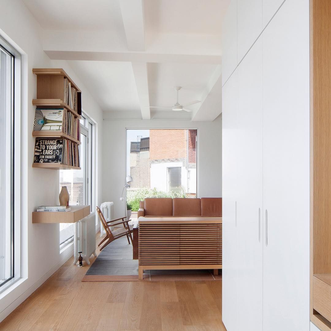New York Studio Apartments: New York Studio @space4architecture Used Only Three Main