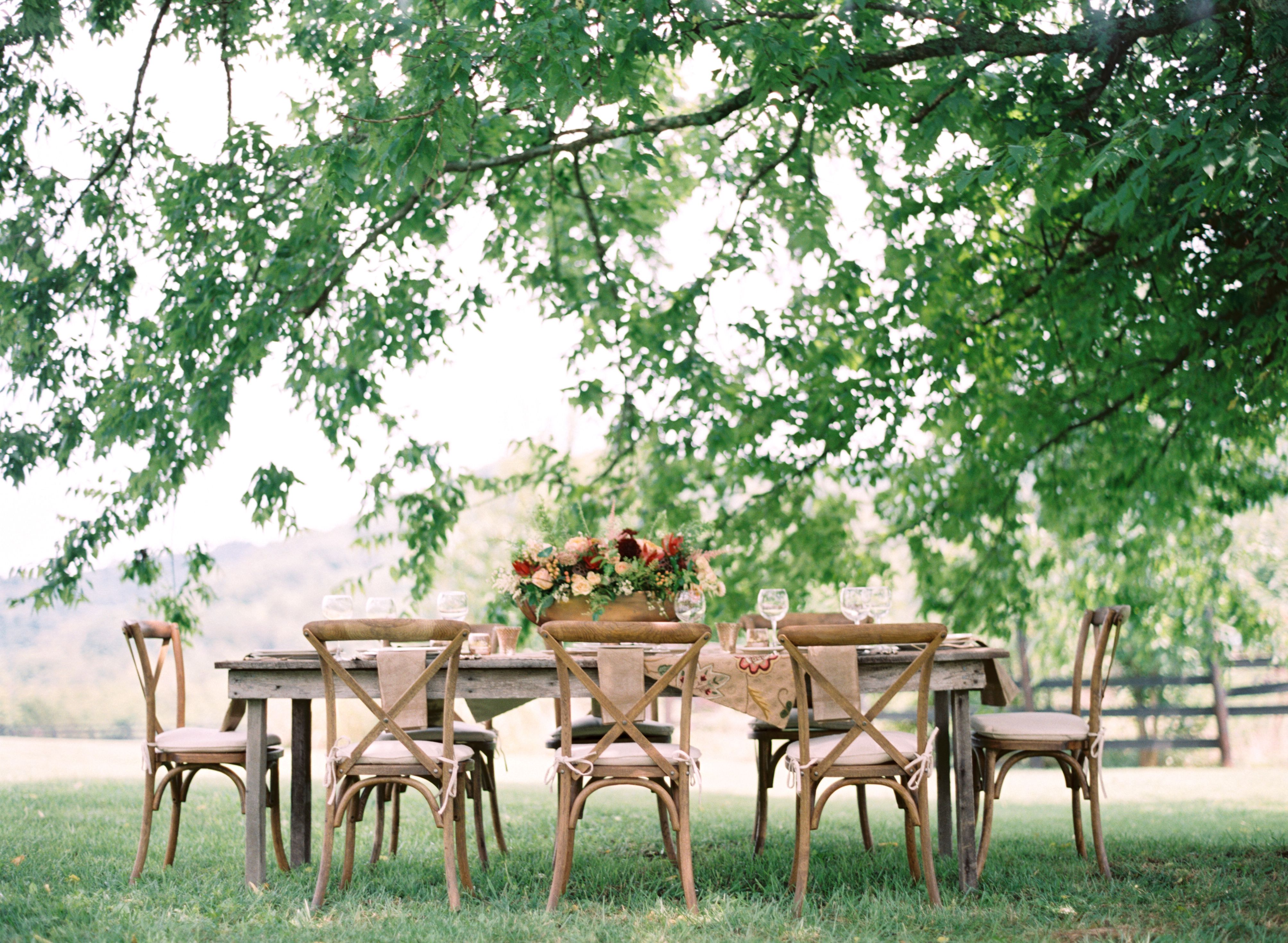 Have the Most Beautiful Backyard Wedding Ever