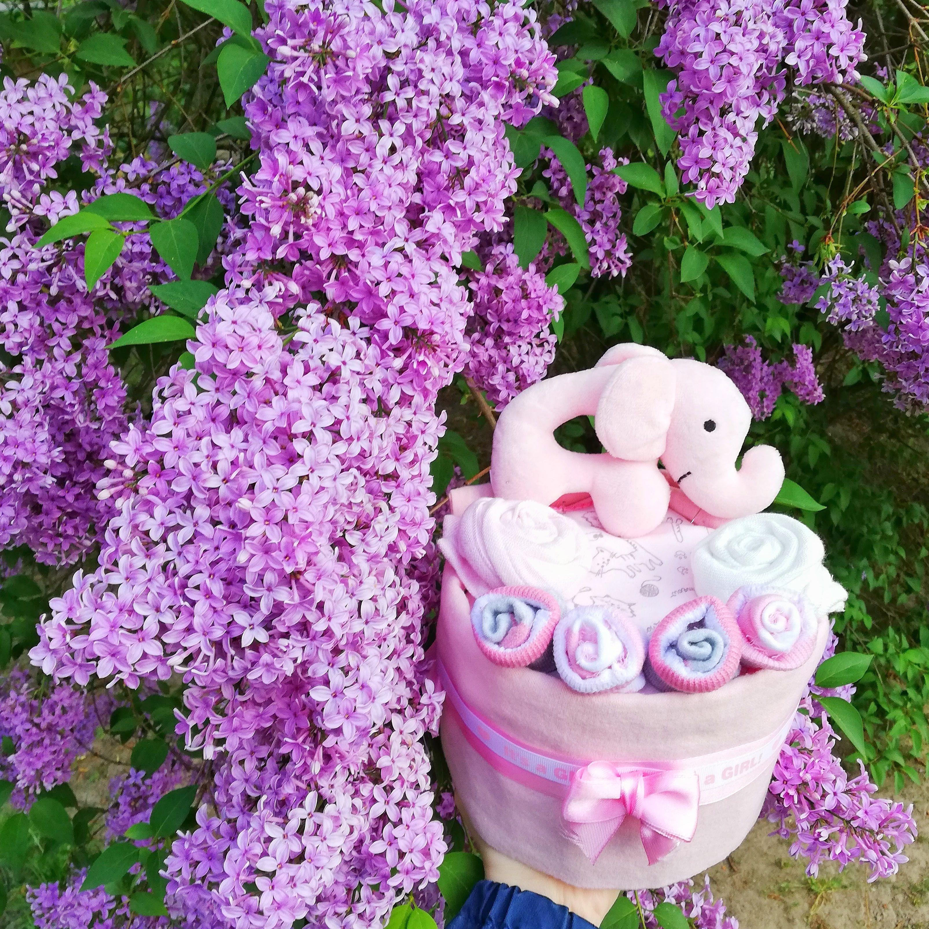 Pin By Witaj Na Swiecie Diaper Cake On Diaper Cake Girl