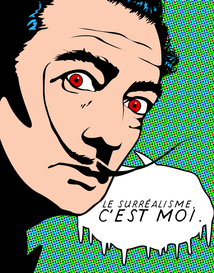 surréalisme Dali pop art