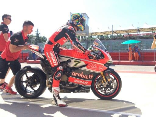 Chaz Davies Ducati sbk Imola 2015