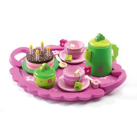 A sweet Djeco Birthday Party set distributed by Kaleidoscope.