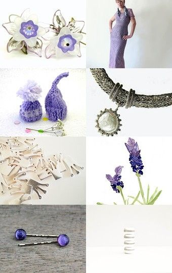 Lilac Inspired by Jen on Etsy--Pinned with TreasuryPin.com