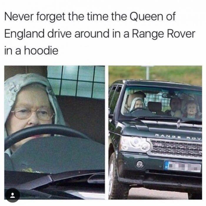 Queen Elizabeth Ii Memes Royalfamily Really Funny Memes Funny Jokes Really Funny