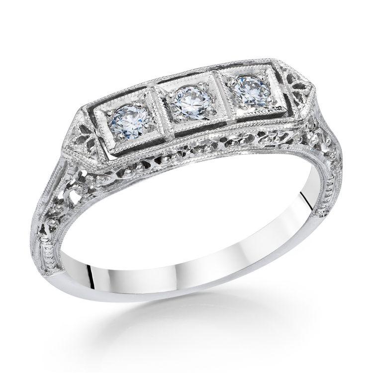 Fashion Rings, Bridal Bling, Filigree