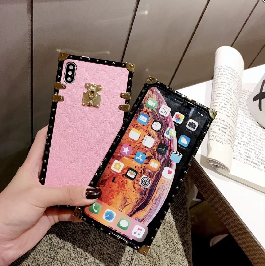 Pu leather cases for iphone 11 pro x xr xs max 8 7 plus 6