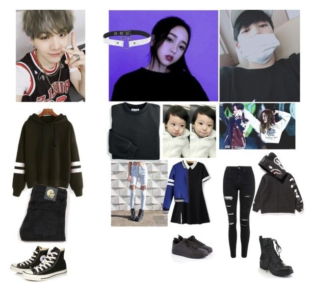 """ootn-Yoongi/Lucy/Jiyun/Jimin"" by infiredbyphan ❤ liked on Polyvore featuring art"