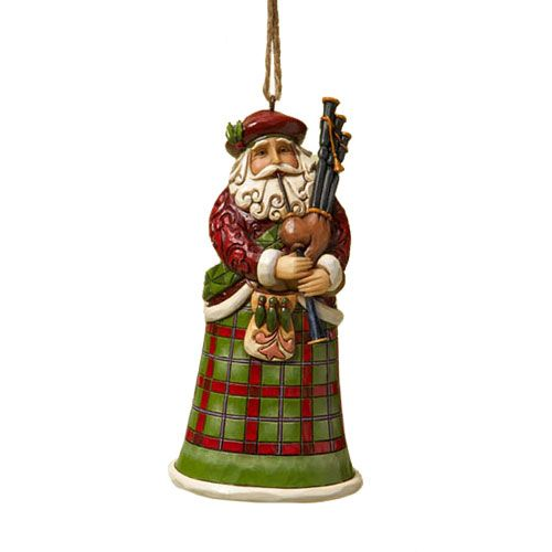 Scottish Santa, Jim Shore Collectibles...