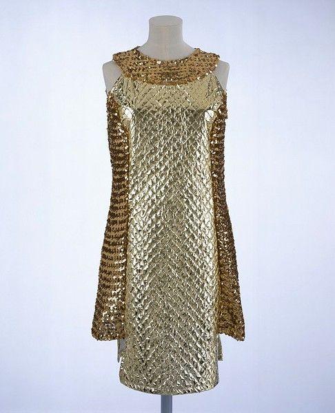Paper dress ca. 1965 via The Victoria & Albert Museum