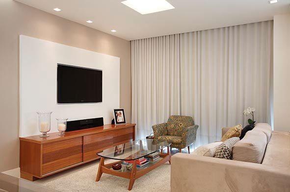 Sancas de gesso modernas para apartamento pequeno fotos 10 for Decoracion casa 90m2