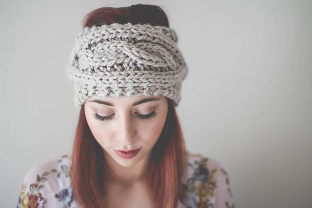 Ravelry Cable Knit Ear Warmer Pattern By Toasted Co Knitting