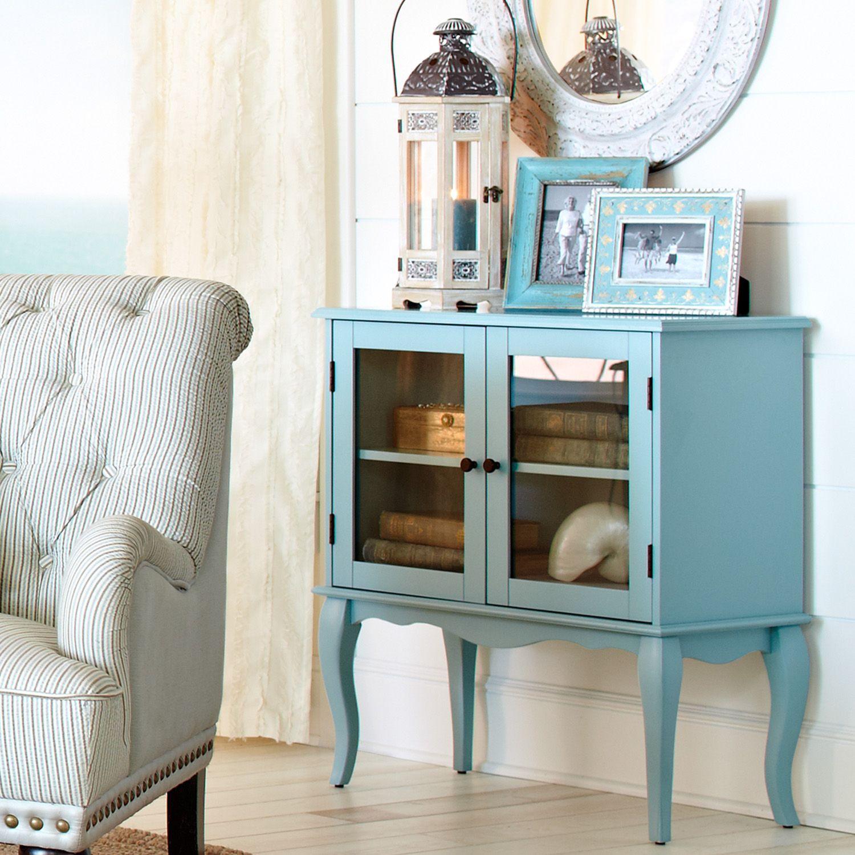 Toscana Sky Blue Cabinet | Blue cabinets, Cabinet, Living ...