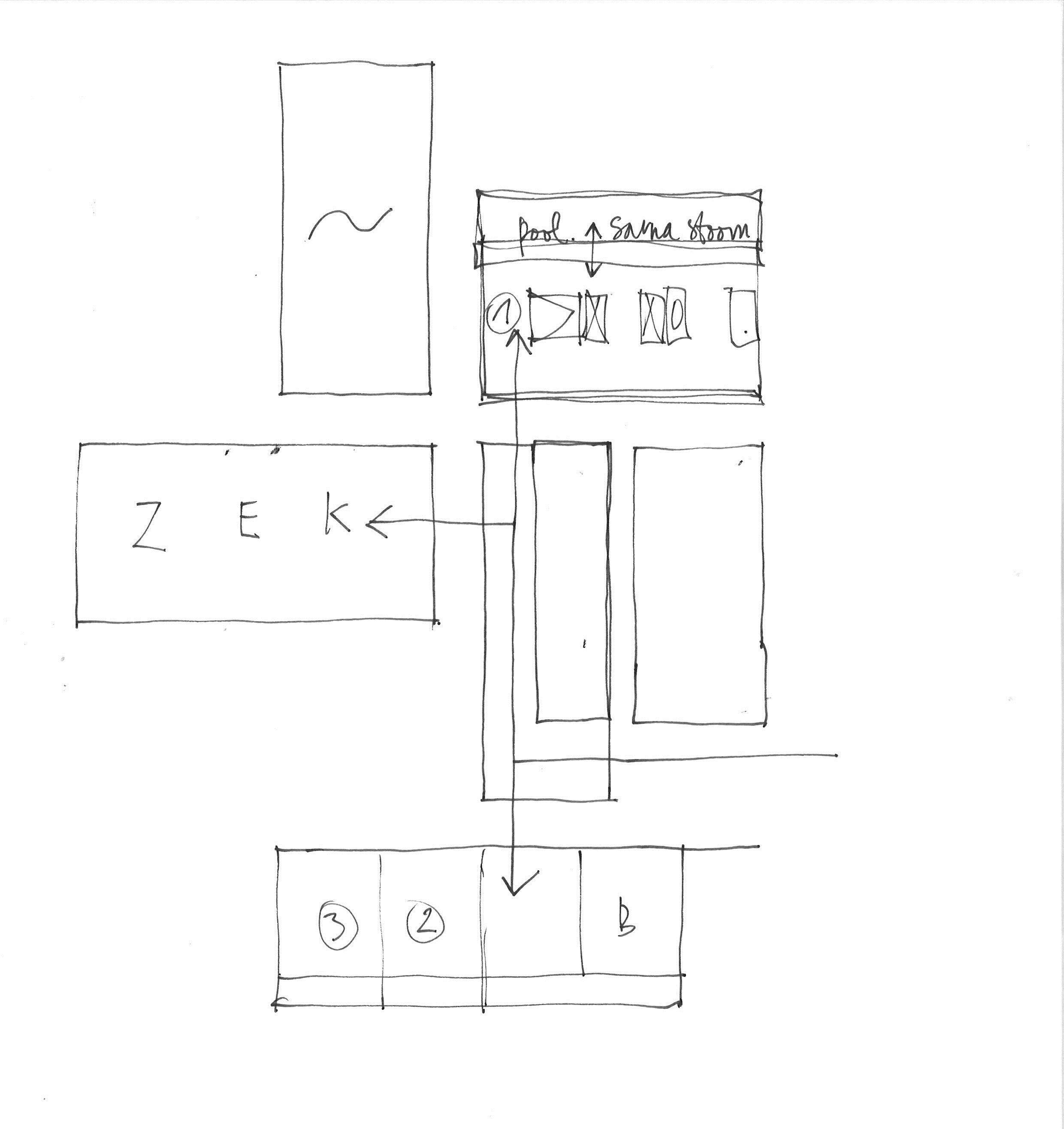 Vlekkenplan 1313HOOL stam.be | 1313HOOL bouwaanvraag | Pinterest