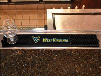 "West Virginia University Drink Mat 3.25""""x24"""""