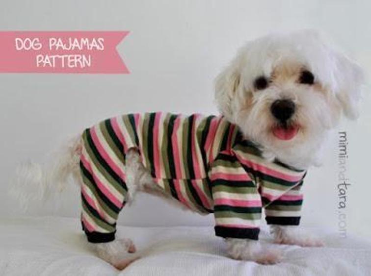 Dog Pajamas Pattern Size S | Pinterest