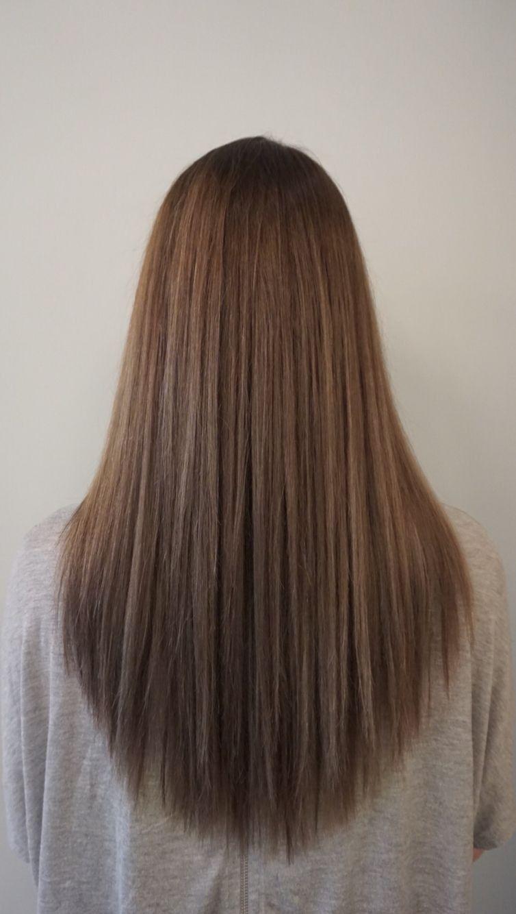 avedamadison  Frisuren lange haare v schnitt, Haarschnitt lange