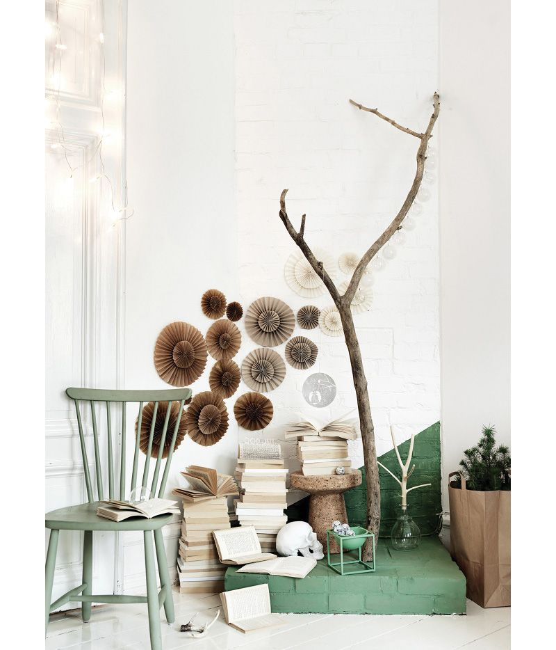 Christmas photos shot by Petra Bindel for Elle Decor
