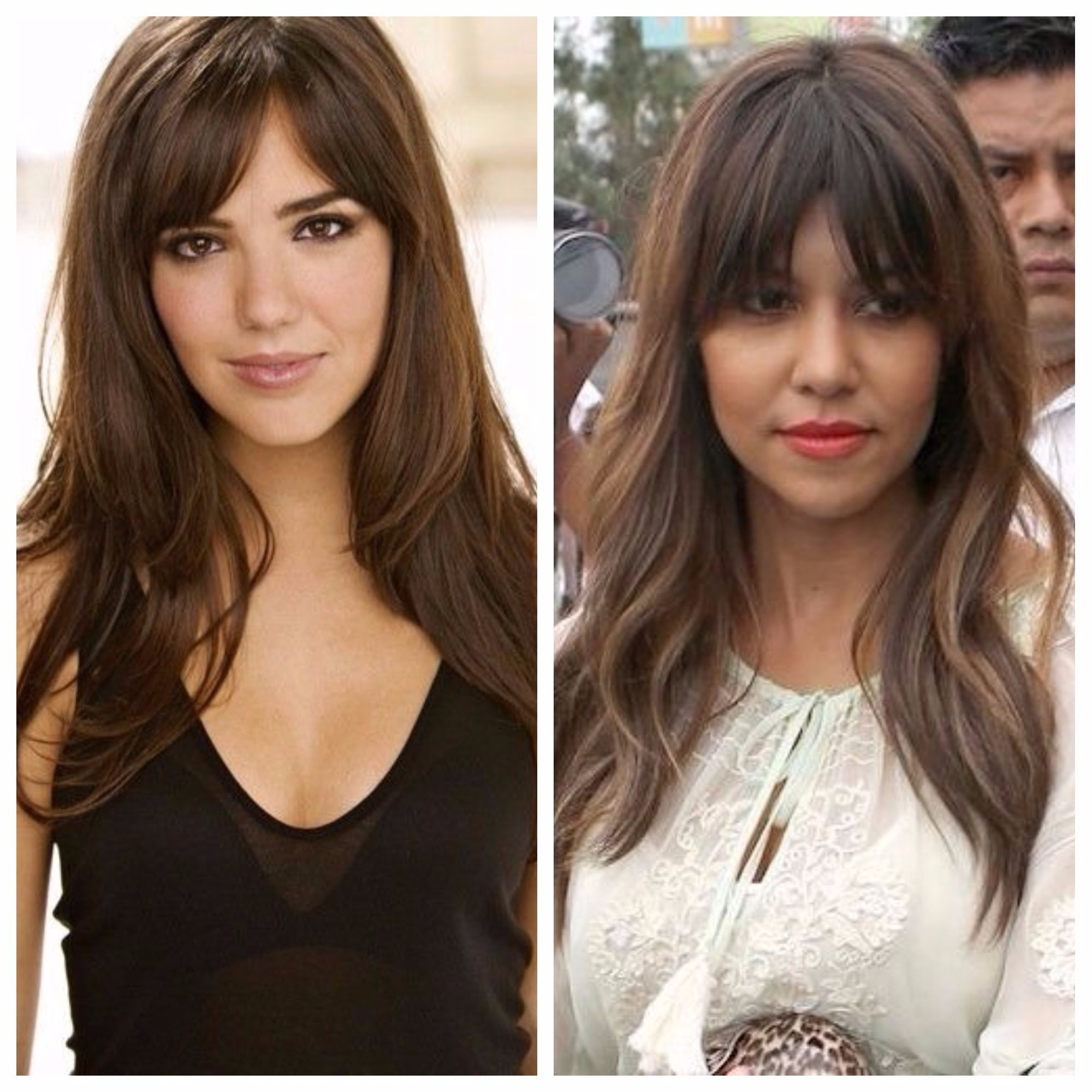 Your Guide To Curtain Bangs Long Hair Styles Square Face