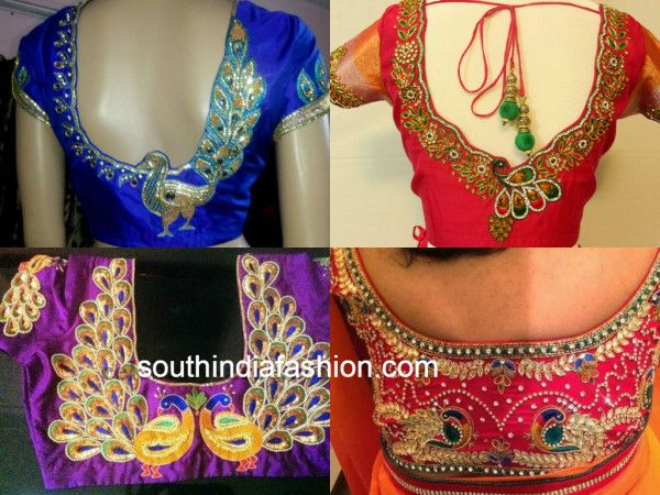 maggam work blouses | Wedding Likes | Pinterest | Work blouse and ...