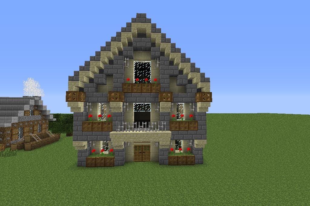 for Minecraft haus bauen