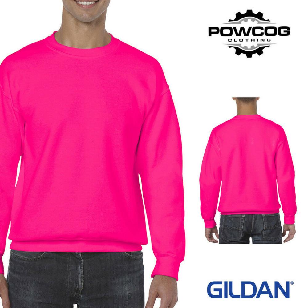 GILDAN HEAVY ADULT Crew Neck Pullover Sweatshirt Sweater Workwear • 33 COLOURS | eBay