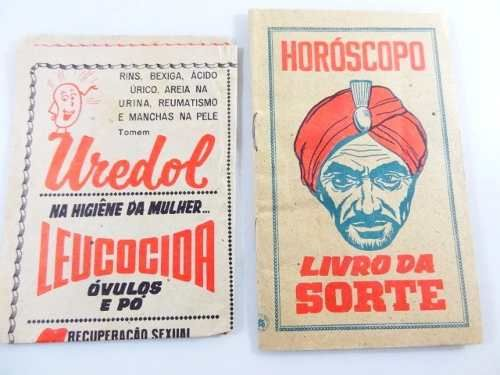 3 antigas publicidades anos 50!!! almanach remedios