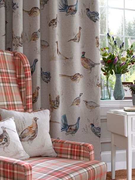 Fabulous English Country Fabrics By Voyage Country Yes Plaid In Beutiful Home Inspiration Aditmahrainfo