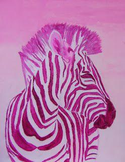 Art Education Blog Monochromatic Painting Monochromatic Art Monochromatic Paintings Elementary Art