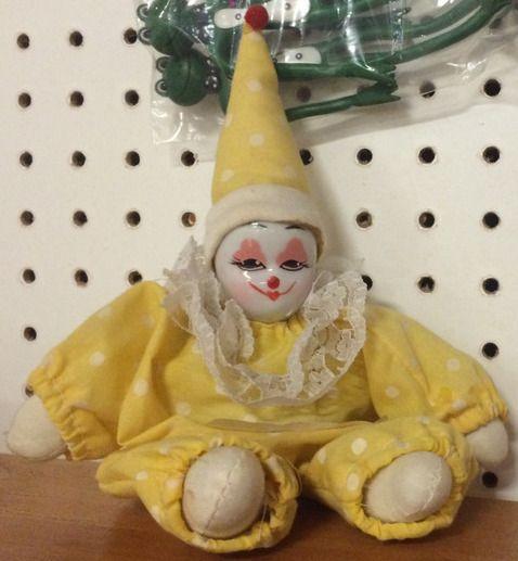 small but knowing clown   Clown Dolls   Cute clown, Clown makeup