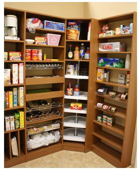Kitchen Pantry Storage Systems Pantry Organization Lazy Susans In The Corner In The Pantry