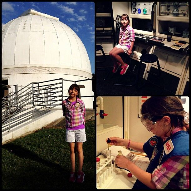 @brettmorrisons photo: Photos from George Observatory and the @Houston Museum of Natural Science Mission to Mars. Great times!