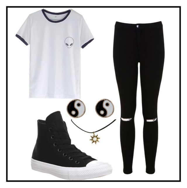 """Who Needs Colour Anyways?"" by jodietuf on Polyvore"