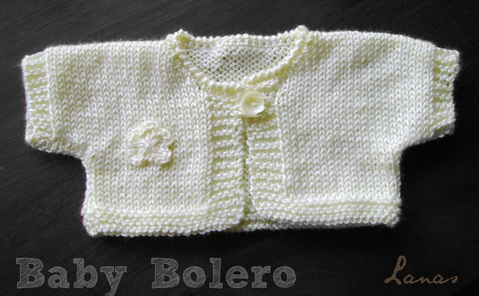 Here is the pattern for the Baby Bolero in English: BABY SHORT ...
