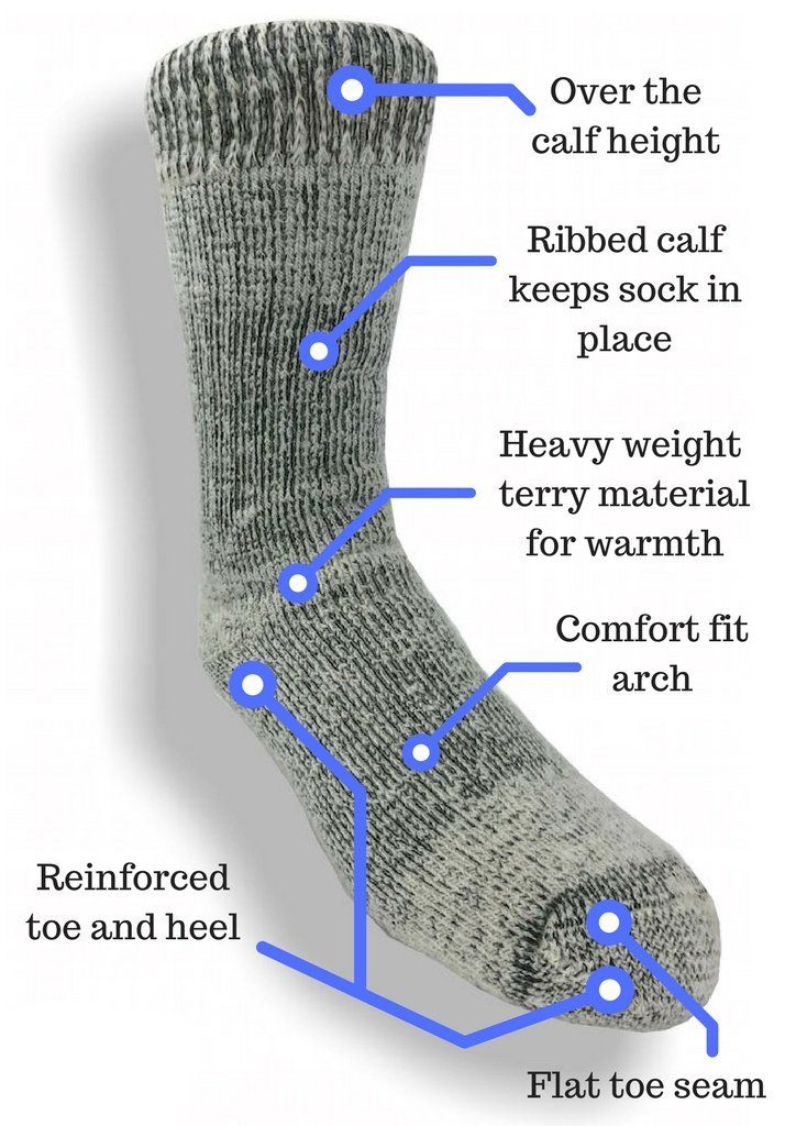 Cushioned Sole Alpaca Knee length Socks