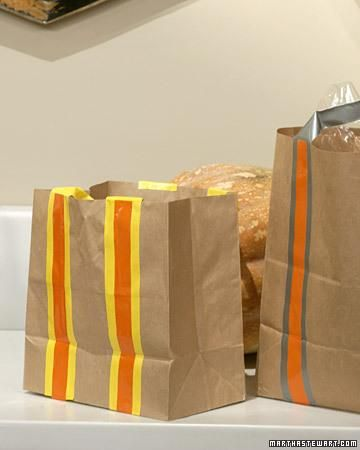 DIY School lunch bag: DIY Trick-or-Treat Bags