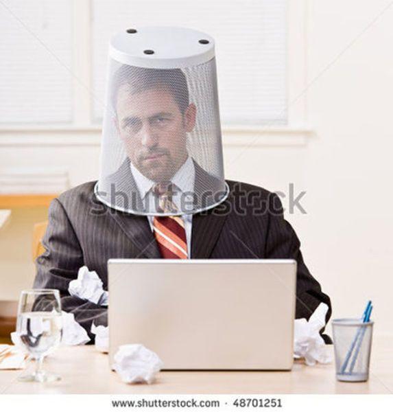 Weird Office Stock Photos 10