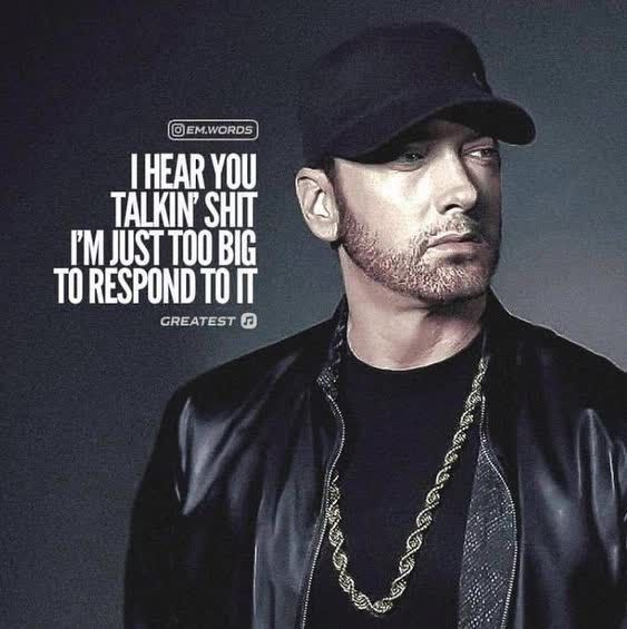 Pin by RBQITEC on Excerpts | Eminem quotes, Rap quotes ...