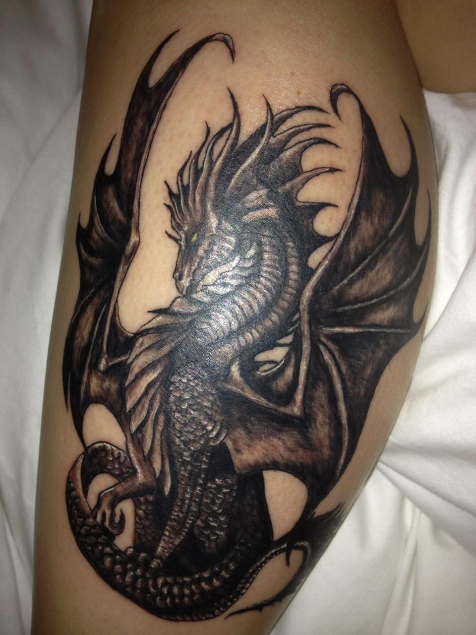 фотографии татуировок драконов номера был репортаж