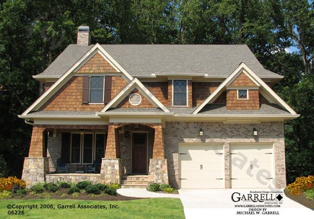 Brick craftsman style house plans house design plans Brick craftsman house