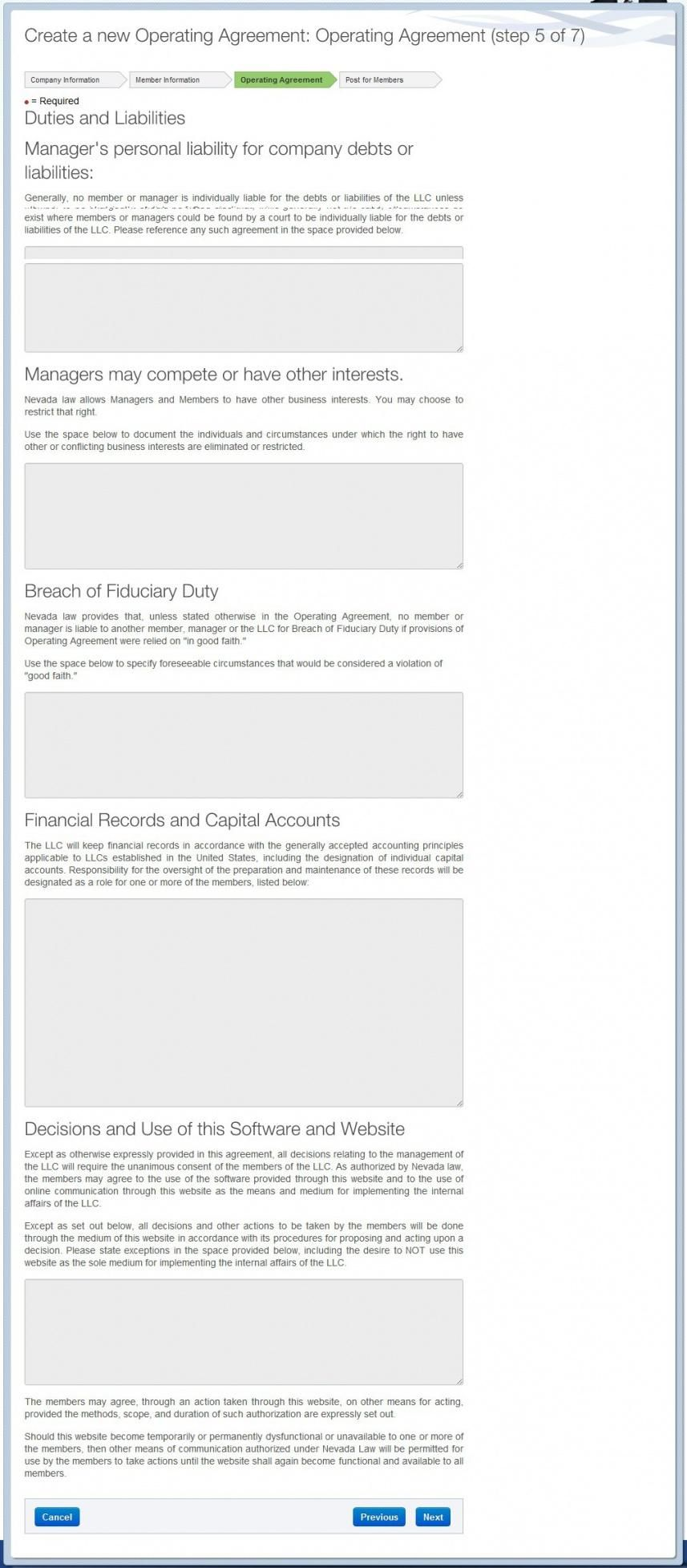 Pin On Agreement Templates California llc operating agreement template