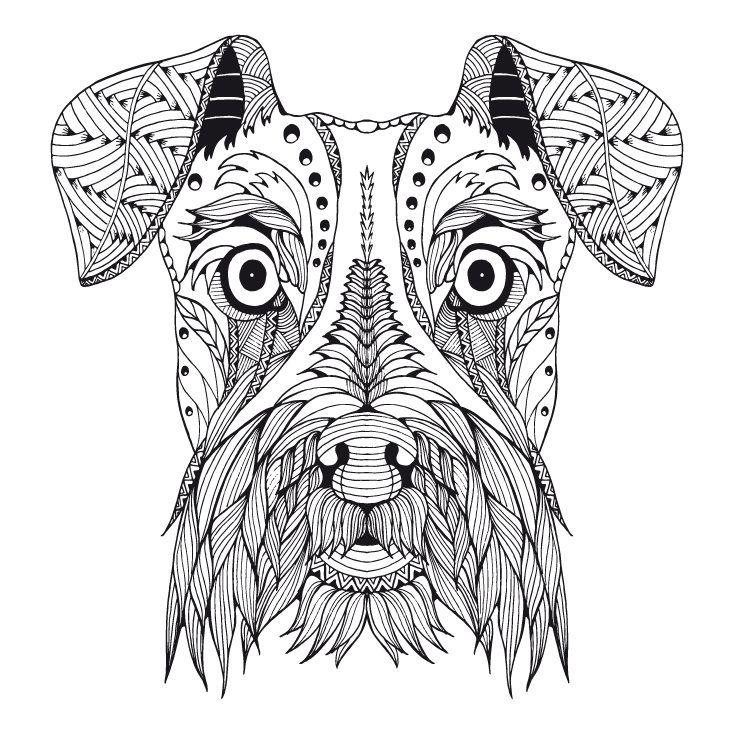 Ausmalbilder Hunde Welpen | Aiquruguay
