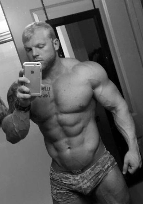 muscle jock getting tantalized
