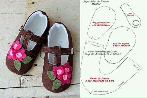 a362dc0c moldes-y-modelos-para-hacer-zapatillas-de-tela-para-bebes-4 ...