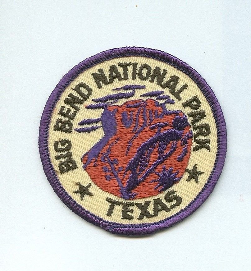Big Bend National Park Texas Souvenir Collectible Patch